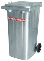 Stahl Müll-Großtonnen