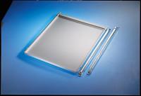 Ausziehboden PROFIPLAN, für Leergehäuse mit Türe Lichtgrau RAL 7035
