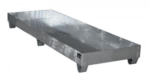 Auffangwannen für Innenlagerung, LxBxT 2400 x 800 x 250 mm