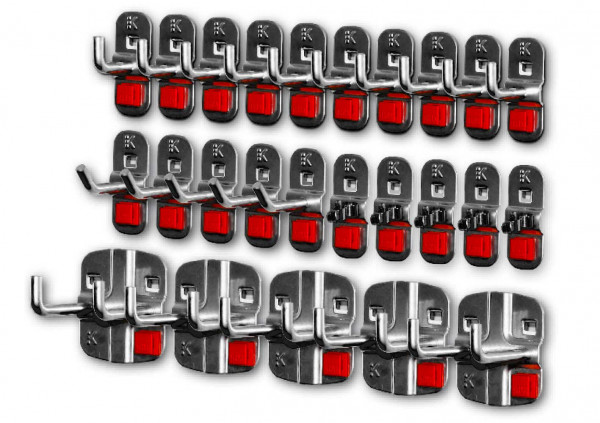 RasterPlan/ABAX Werkzeughalter-Sortiment, 25-teilig