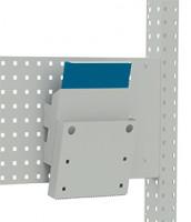 Dokumentenablage für Lochplatten/Lochblech Grundelement