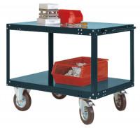 Mittelschwerer Tischwagen TRANSOMOBIL Anthrazit RAL 7016 / 1200 x 800