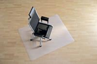 Transparente Bodenschutzmatte für Hartböden, glatt 750 / Rechteck