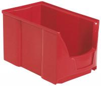 Sichtlagerkästen Futura, Verpackungseinheiten Rot / 168 x 103 x 75