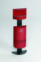 Kombi-Ascher, 13 Liter Feuerrot