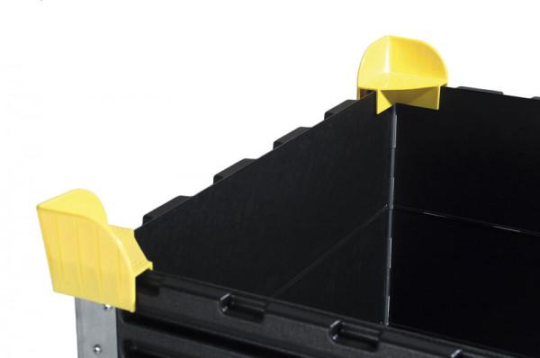 Stapelecken für Paletten Aufsatzrahmen