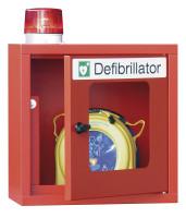 Defibrillator-Schrank mit Sirene und Lampe