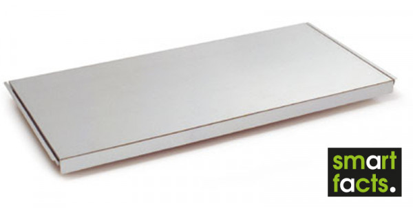 Verzinkte Stahlböden für SMARTFACTS-Fachbodenregale