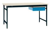 Beistelltisch PVC 22 mm BASIS Anthrazit RAL 7016 / 2000 / 800
