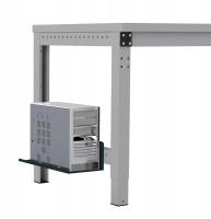 Mini-CPU-Halter für MULTIPLAN / PROFIPLAN Anthrazit RAL 7016
