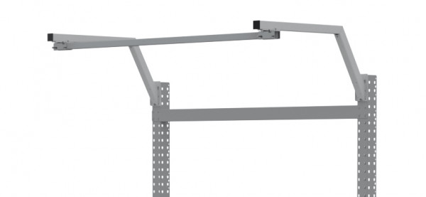 PROFIPLAN Ausleger gekröpft, extra für Stahl-Aufbauportale