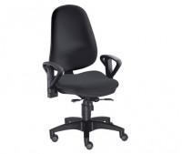 Bürodrehstuhl Como 60 / Schwarz