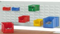 Werkzeug-Schlitzplatten für Alu-Aufbauportale Lichtgrau RAL 7035 / 996