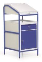 Stehpult Ja / Einbauschrank mit Tür + Schublade