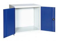 Lochplattenschrank Leergehäuse, H x B x T 1000 x 1000 x 600 mm