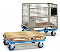 Paletten-Fahrgestelle, mit Elastic-Bereifung 652 / 1210 x 810