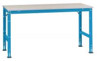 Anbauarbeitstisch UNIVERSAL Standard, PVC 22 mm