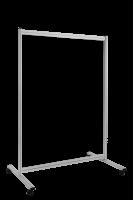 Economy Trennwand, transparent, Breite 1200 mm 1500