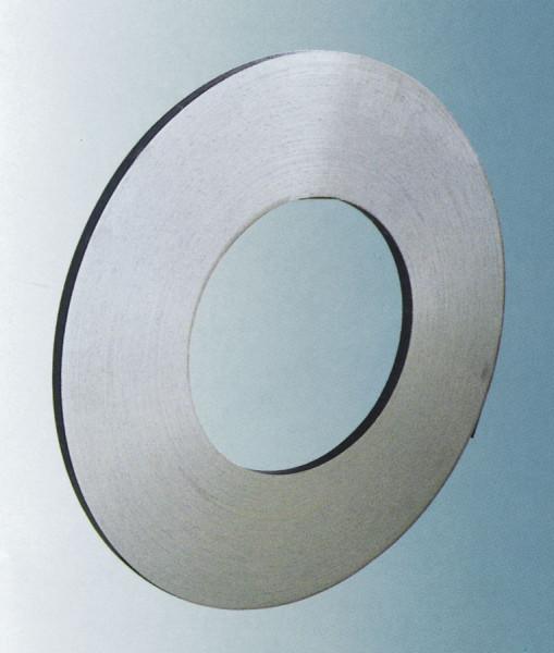 Einlagiges Stahlband, blank