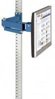 Monitorträger 100 / Brillantblau RAL 5007