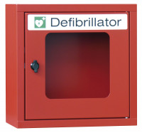 Defibrillator-Schrank mit Sirene