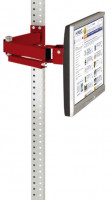 Monitorträger 100 / Rubinrot RAL 3003