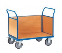 Dreiwandkastenwagen Holz / 1000 x 700