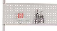 Werkzeug-Halterplatte E-LINE, Nutzhöhe 300 mm Lichtgrau RAL 7035 / 1500