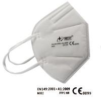 Faltbare Atemschutzmaske, Feinstaubmaske, Mundschutz FFP2 NR, VE = 10 Stück