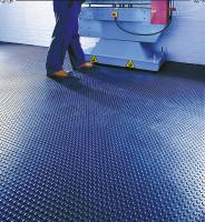 Vinyl-Bodenbelag 3,3 mm hoch, Blau 1000/lfdm. / Blau