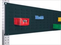 Werkzeug-Schlitzplatten für Stahl-Aufbauportale Anthrazit RAL 7016 / 1750