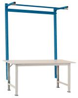 Stahl-Aufbauportale mit Ausleger für PACKPOOL Spezial/Ergo 2000 / Alusilber ähnlich RAL 9006
