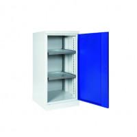 Materialschrank mit ausziehbaren Böden und Schubladen, Höhe 1000 mm 500 / 2 Böden