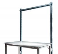 Stahl-Aufbauportal ohne Ausleger mit Querstabilisierungsstrebe Grundeinheit Standard Anthrazit RAL 7016 / 1750