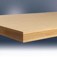 Werkbankplatte Multiplex geölt 40 mm für Combi 1750