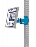 Monitorträger für MULTIPLAN / PROFIPLAN Lichtblau RAL 5012 / 75
