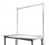 Stahl-Aufbauportal ohne Ausleger mit Querstabilisierungsstrebe Grundeinheit Standard Lichtgrau RAL 7035 / 1000