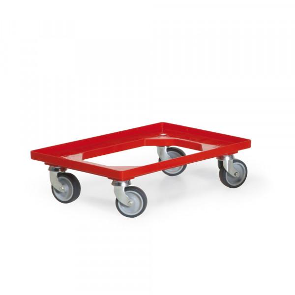 Kasten-Roller für Euro-Normkästen, L x B 607 x 407 mm, Tragkraft 250 kg