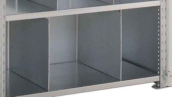Fachteiler geschlossen, für Schwerlast-fachbodensteckregale