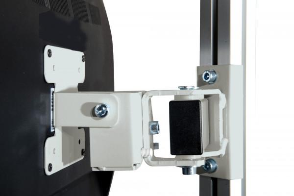 Monitor-Halter für Aufbausäule E-LINE, VESA 75/100 mm