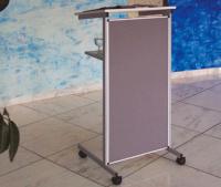 Rednerpult blaue Front