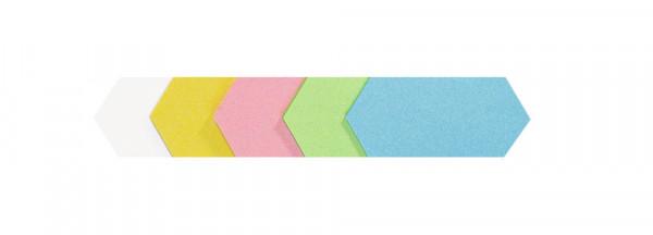 Moderations-Rhomben und Waben, 250 Stück