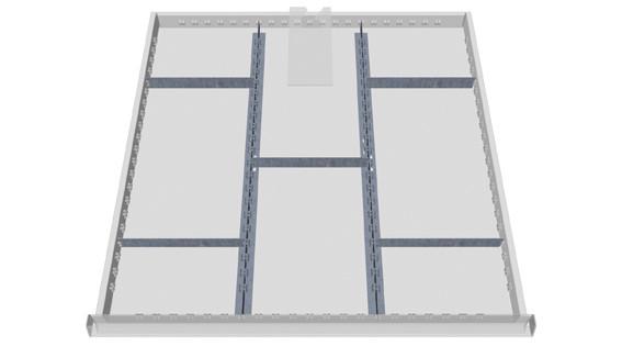 Unterteilungs-Set 1 für Kastenwerkbank COMPACT