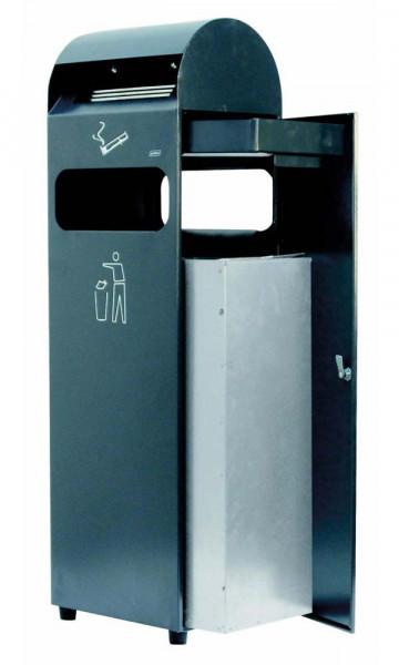 Abfallbehälter mit Ascher