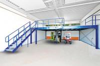 Anbaufeld Front fürBühnen-Modulsystem, 350 kg/m² Traglast 4000 / 4000