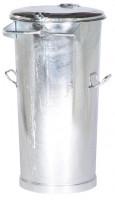 Stahlblech-Mülleimer, für staubfreie Entleerung 110