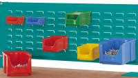 Werkzeug-Schlitzplatten für Alu-Aufbauportale Wasserblau RAL 5021 / 1496