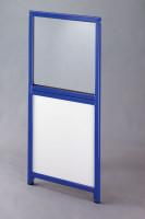 Doppeltür für Trennwand-System Universelle Acrylglas/Spanplatte