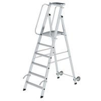 Aluminium-Stehleiter einseitig begehbar 6