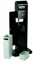 Standascher, mit/ohne Abfallbehälter ohne Abfallbehälter